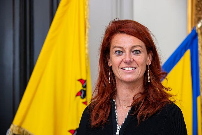Burgemeester Ruth Vandenberghe