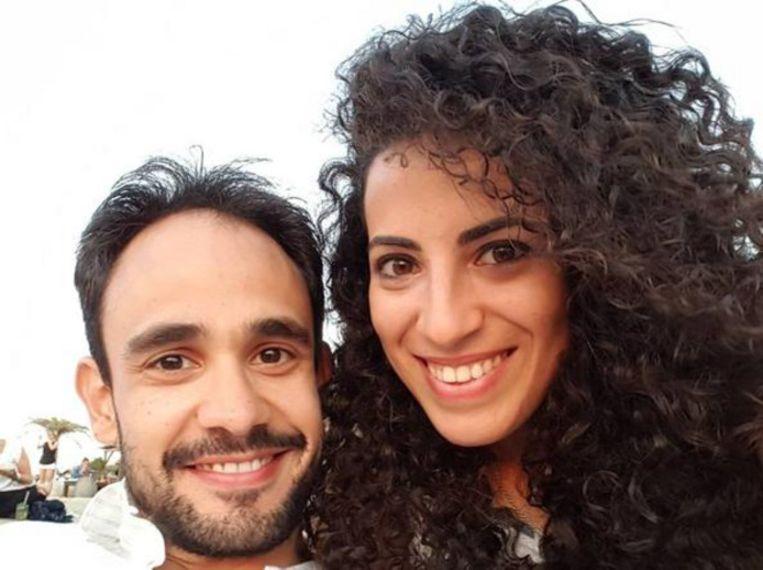 Marta Danisi (28) en haar vriend Alberto Fanfani (32).