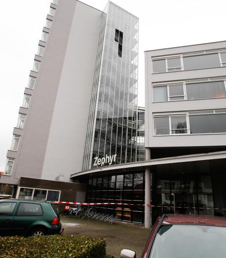 Trappenhuis flat gesloten vanwege harde windstoten