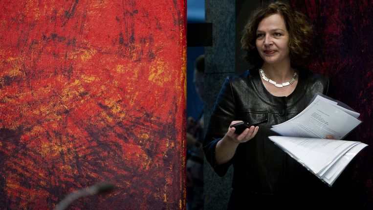 Minister van Volksgezondheid, Welzijn en Sport, Edith Schippers. Beeld ANP