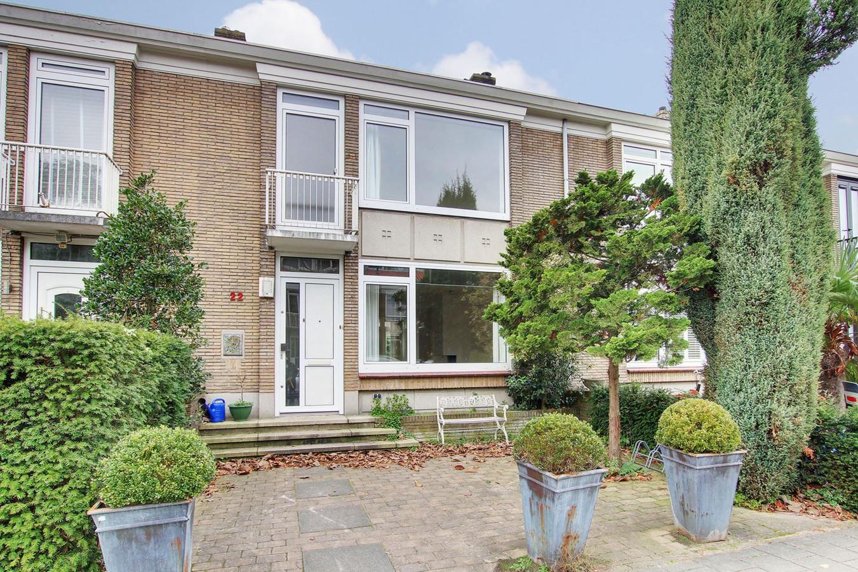 Het rijtjeshuis van 1.450.000 euro in de Prinses Irene-buurt in Amsterdam-Zuid.