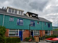 Brand verwoest zolder van woning in Dronten