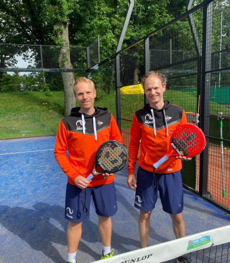 Deze twee Oldenzaalse padel-spelers komen opnieuw uit voor Oranje: 'Ze moeten me echt uit dit team schoppen'