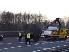 Losgeschoten aanhanger zorgt voor vertraging op A32 tussen Steenwijk en Meppel