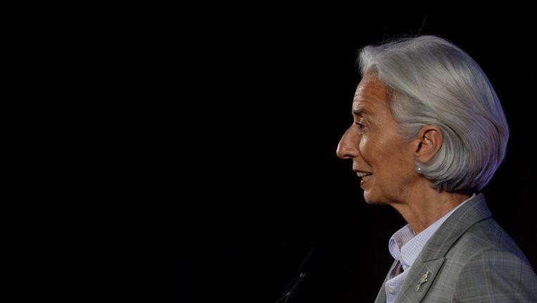 IMF-directeur Christine Lagarde Beeld epa