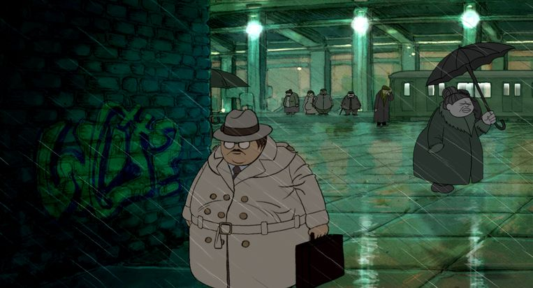 Remco Polman werkte vijf jaar met zijn team aan animatiefilm Camouflage. Beeld