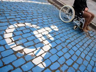 Extra parking voor personen met handicap in centrum