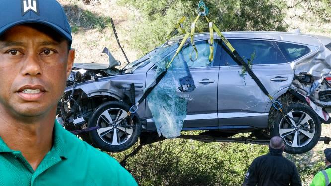 Oorzaak ernstig ongeluk Tiger Woods bekend: topgolfer crashte aan 140 km/u
