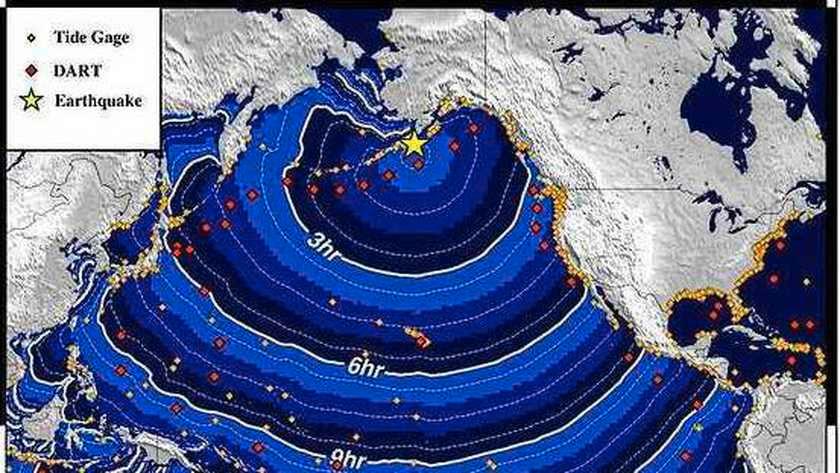 Tsunami-waarschuwing