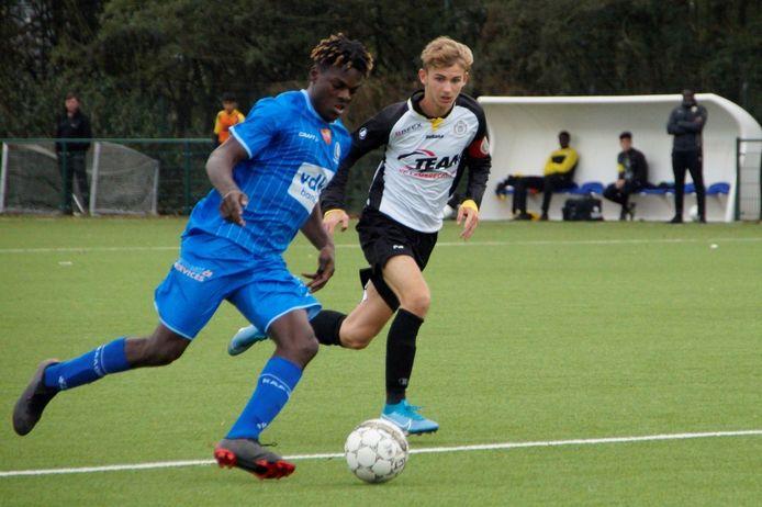 Jossue Dolet wordt voor één jaar gehuurd van KV Mechelen, hij is de zesde speler die overkomt van de samenwerkingspartner.