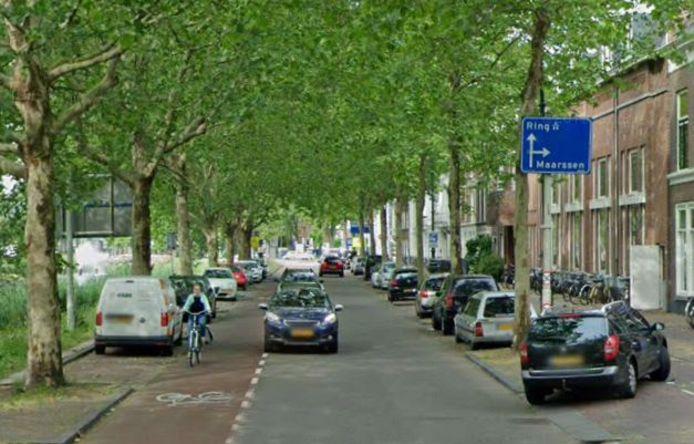 Weerdsingel Westzijde in Utrecht.