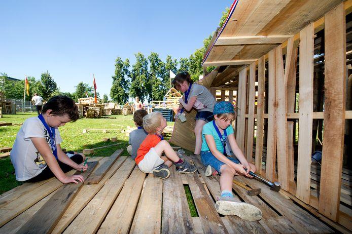 Kinderbouwdorp Duuk: Volgend jaar niet meer?