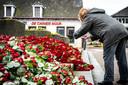 Duizend rode rozen in het zwaar getroffen Erp.