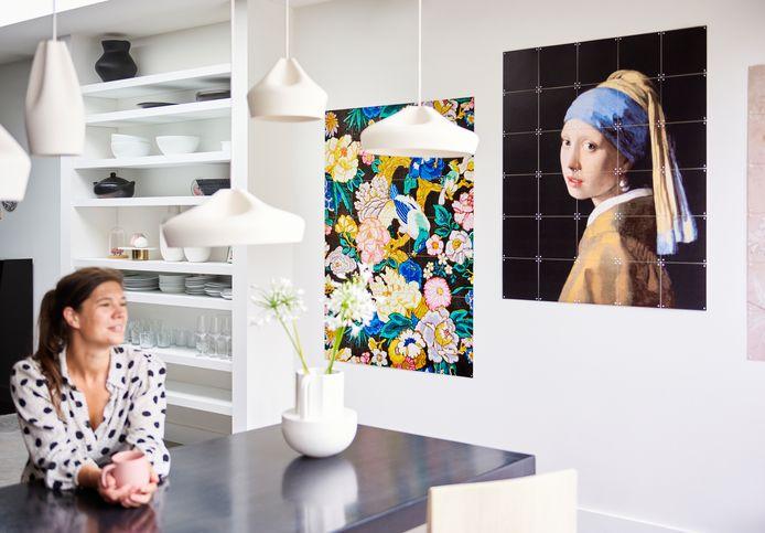 Het Meisje met de parel van Johannes Vermeer.