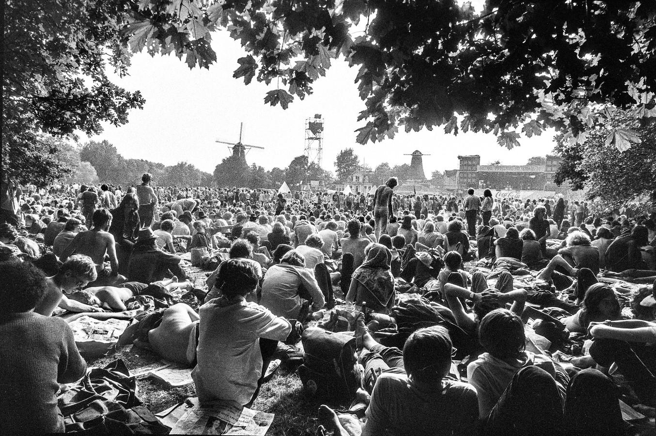 Holland Pop Festival in Kralingen was in 1970 het eerste meerdaagse rockfestival op het Europese vasteland. Frans Dekkers uit Valkenswaard was erbij.