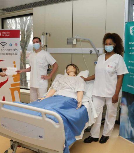 78 nouveaux diplômés en soins infirmiers en Province de Liège et un taux d'engagement de 100%