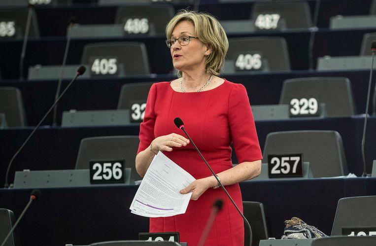 De Ierse Europarlementariër Mairead McGuinness in 2018.  Beeld AP