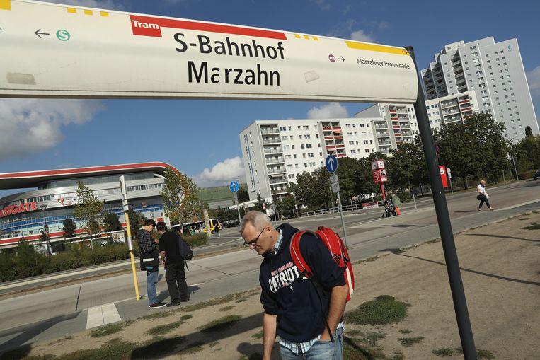 Bij de Berlijnse verkiezingen in 2016 leed de SPD in Marzahn-Hellersdorf een pijnlijk verlies. Beeld Getty Images