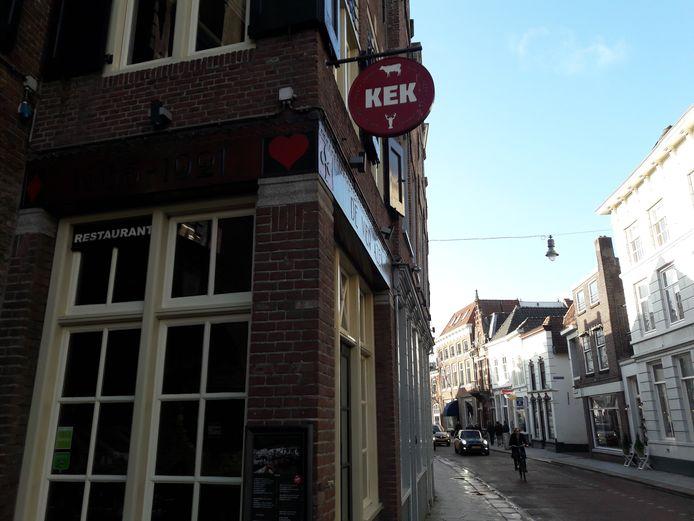 Het pand waar KEK eerst in zat, halverwege de Bossche Vughterstraat.