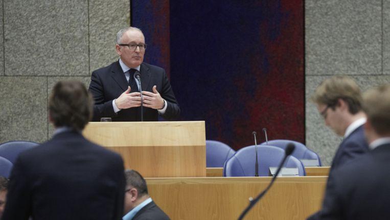 Minister Minister FransTimmermans van Buitenlandse Zaken Beeld anp