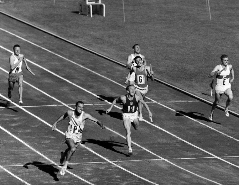 Als sprinter was Bobby Joe Morrow nauwelijks te verslaan. Beeld AP