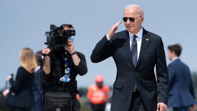 President Biden heeft België verlaten