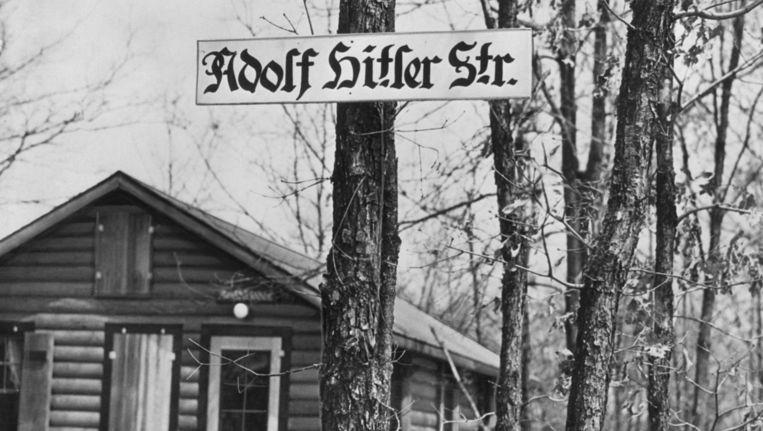 In 1938 had Yaphank nog een Adolf Hitler-straat. Beeld Bettmann / Corbis