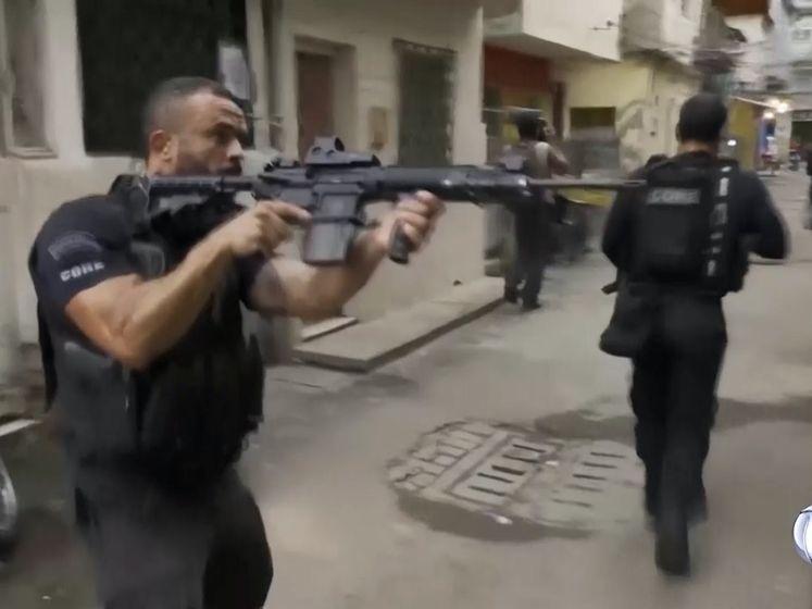 Schokkende beelden: politieactie in Rio loopt uit op bloedbad