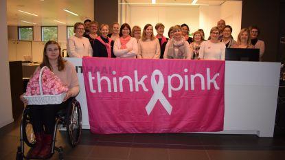 Vijftig tinten roze: zo vragen Asseneedse ambtenaren aandacht voor borstkankeronderzoek