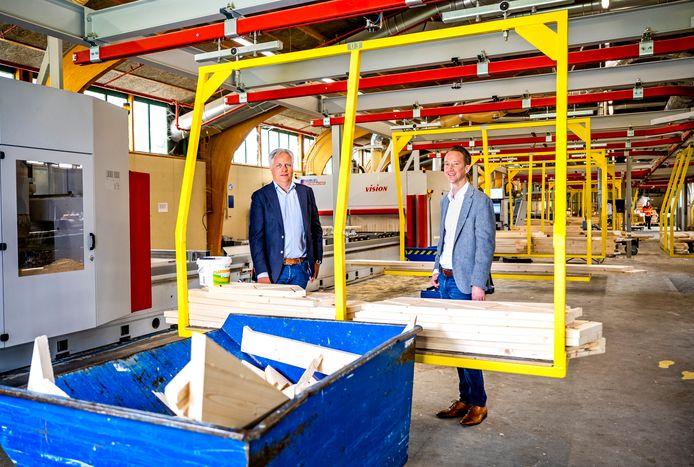 Dirk Bergman (l.) en Gregor den Breugom de Haas van VIOS.