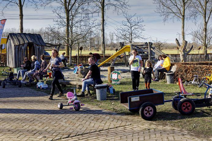 Op het terrein van Schaapskooi Schijndel was het dit weekend gezellig druk.