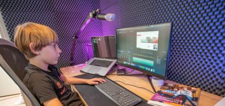 Max (13) uit Eindhoven heeft al zijn eigen bedrijf