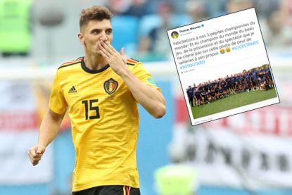 Meunier, terug in hol van de leeuw, verwoordt nog even wat elke fan van de Rode Duivels denkt na het WK