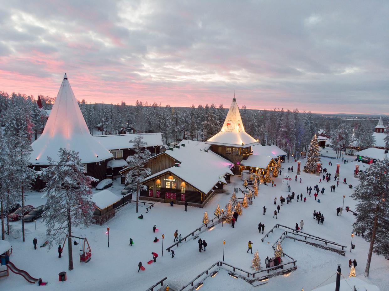 Santa Claus Village in Rovaniemi.