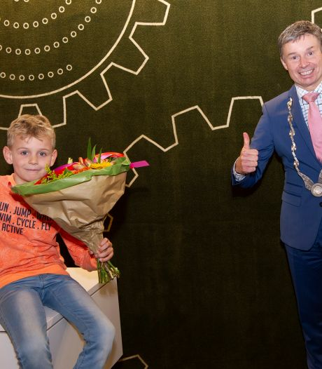 Lars (9) gekozen tot eerste kinderburgemeester van Duiven