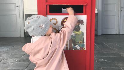 Bericht aan alle brave kindjes: deponeer nu je brief of tekening aan de Sint in de hemelbus