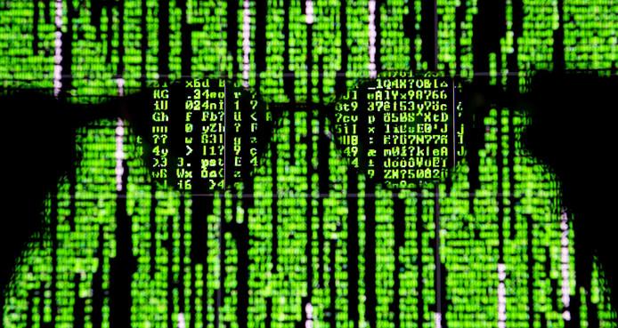 Computerdata op het scherm van een laptop.
