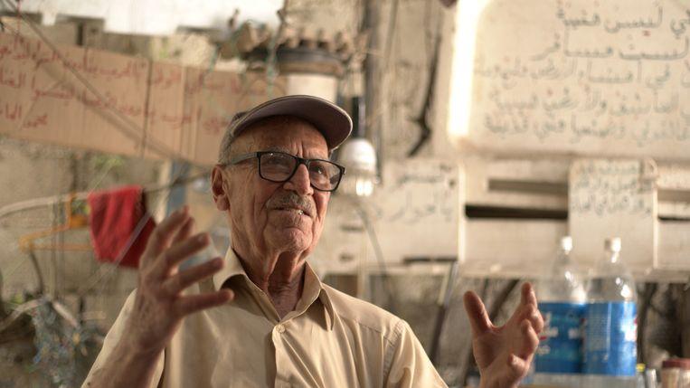 Abu Fadi, inwoner van Hasaka, Noordoost-Syrië. Beeld Michaal Faisal