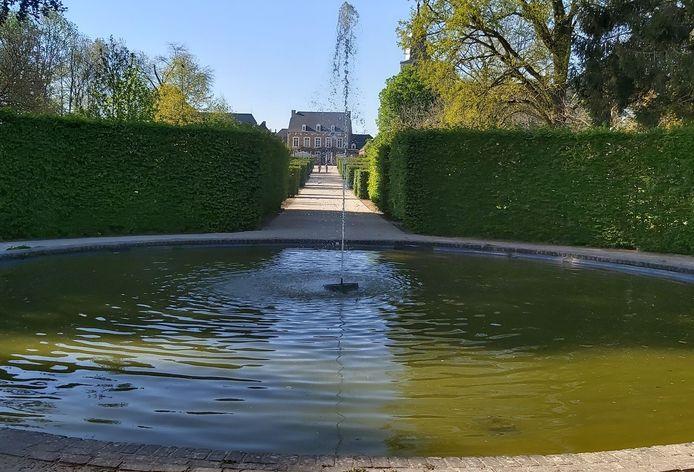 Aan deze fontein is de start van de zoektocht voorzien