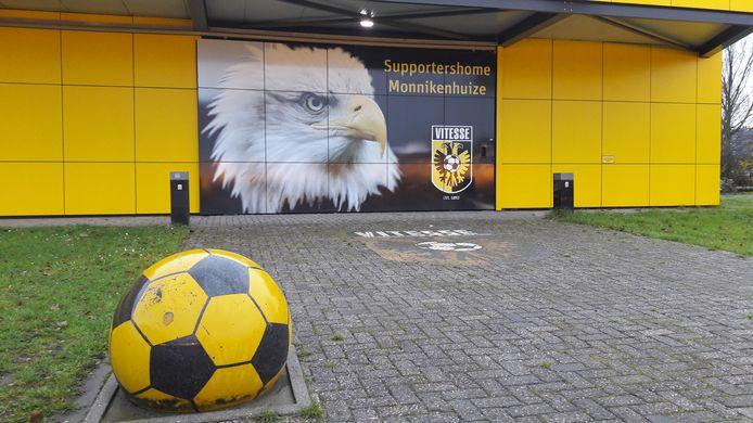 Supportershome Monnikenhuize van de Supportersvereniging Vitesse bij het GelreDome.