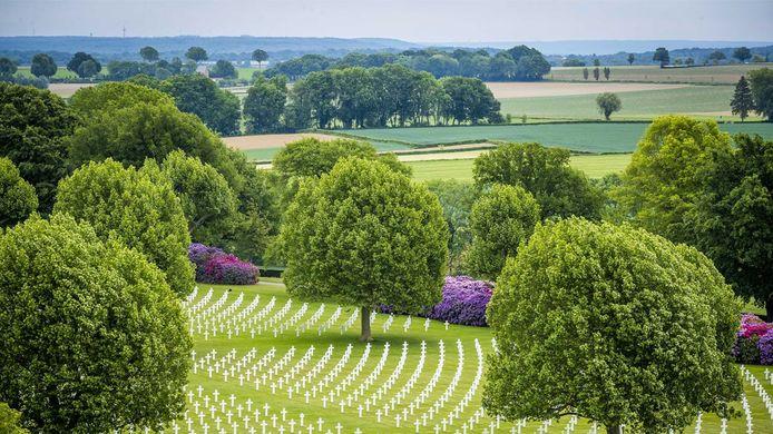 De begraafplaats Margraten.
