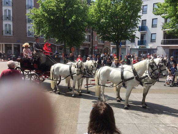 Vorig jaar was de Koetsenparade een succes.
