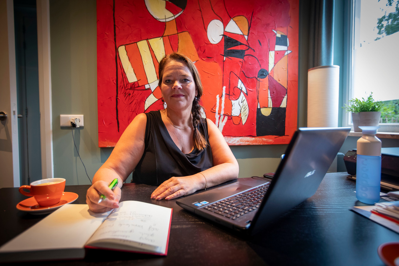 Hulpverleenster Esther van Heertum