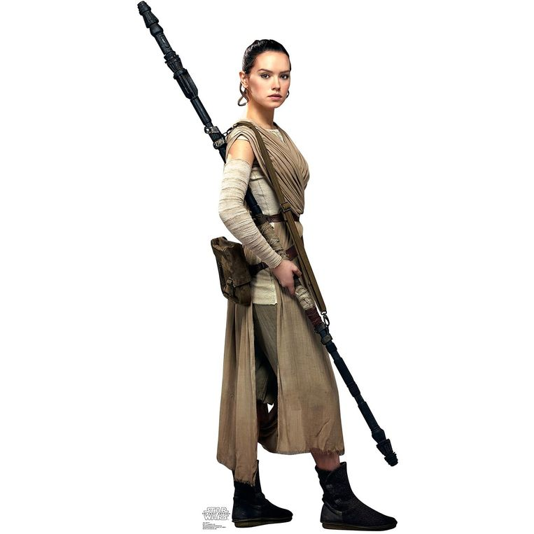 Vrouwelijke protagonisten zoals Rey ontbreken wel vaker op de speelgoedafdeling. Beeld Disney