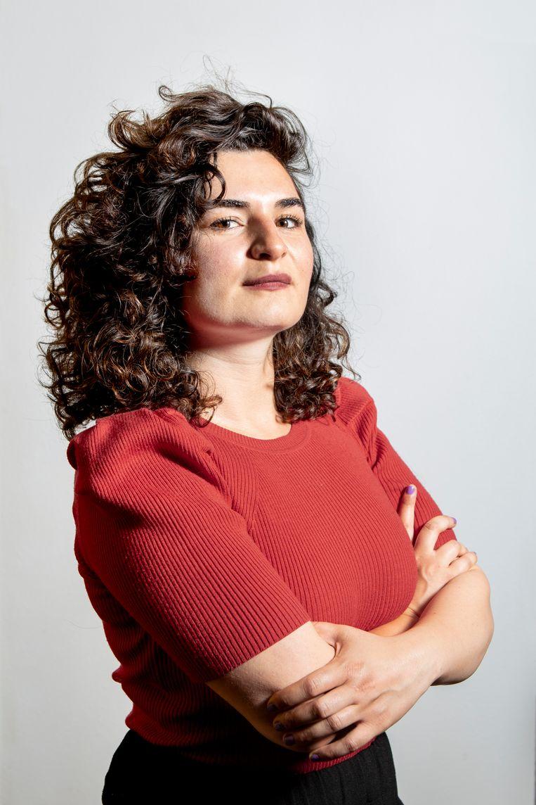 Maral Noshad Sharifi, de nieuwe Volkskrant-correspondent in de Verenigde Staten. Beeld Pauline Niks