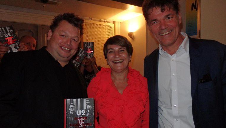 Initiator Erik van Bruggen, minister Lilianne Ploumen en burgemeester Paul Depla van Breda (vlnr). Maar geen Neil Beeld Schuim