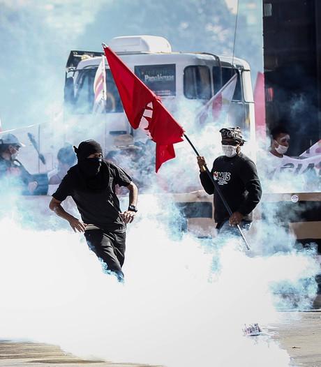 Ministeries Brazilië ontruimd na rellen; leger moet orde herstellen