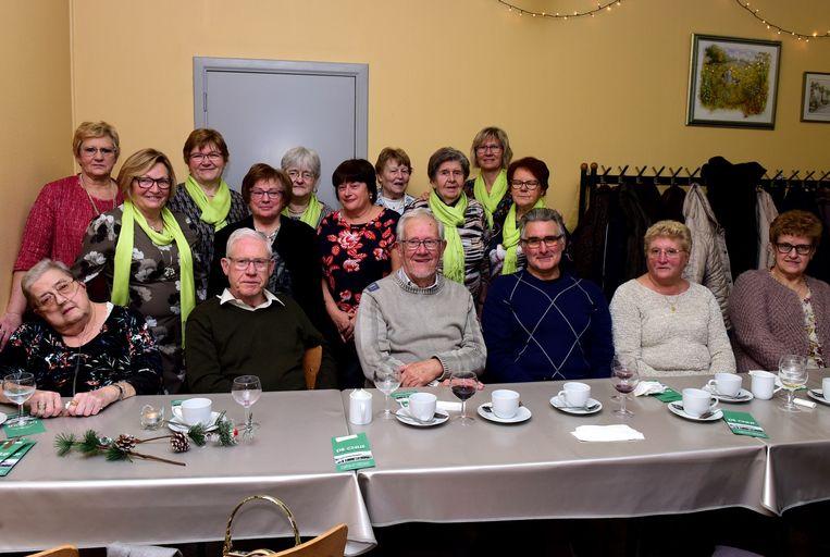 De dames van de KVLV organiseerden een feestje en de mannen waren ook welkom