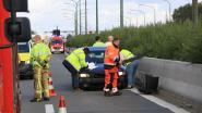 Banale aanrijding veroorzaakt zware verkeershinder op E17