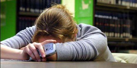 Negen op tien studenten kampen met stress.